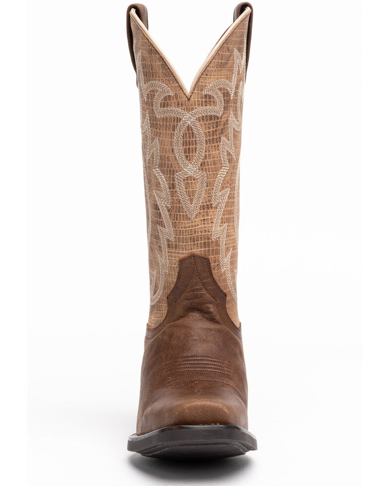 Shyanne Women's Aster Western Boots - Square Toe, Tan, hi-res
