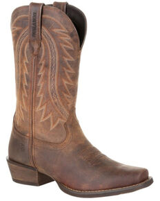 Durango Men's Rebel Frontier Western Boots - Square Toe, Brown, hi-res