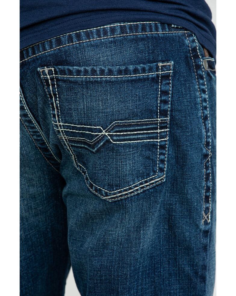 Ariat Men's M2 Denali 3D River Relaxed Stackable Bootcut Jeans , Blue, hi-res