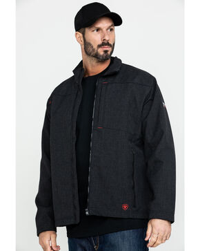 Ariat Men's Black FR Vernon Jacket, Black, hi-res