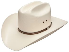 ccf6ceee721 Resistol George Strait Hamilton 10X Shantung Straw Cowboy Hat, Natural,  hi-res
