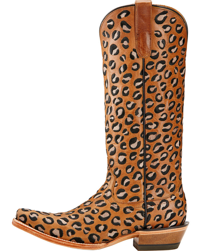Ariat Wildcat Embroidered Cowgirl Boots - Snip Toe , Khaki, hi-res