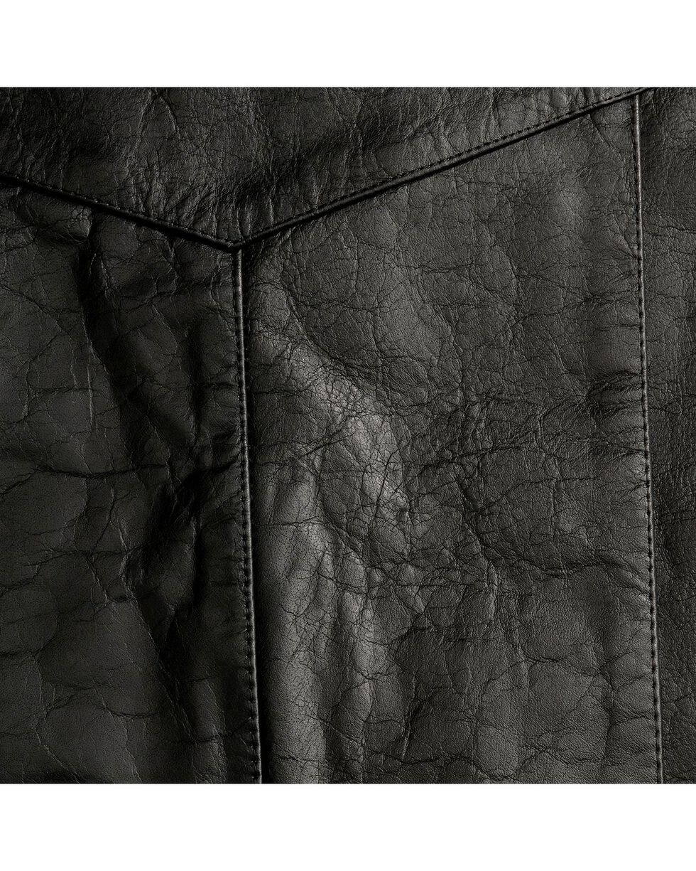 Interstate Leather Motorcycle Leather Vest, , hi-res