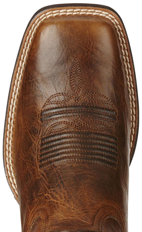 Ariat Brown Women's Quickdraw Venttek Boots - Wide Square Toe , , hi-res