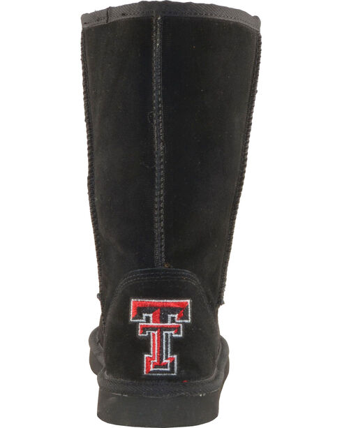 Gameday Boots Women's Texas Tech University Lambskin Boots, Black, hi-res