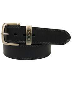 Berne Men's Black Buffalo Leather Belt , Black, hi-res