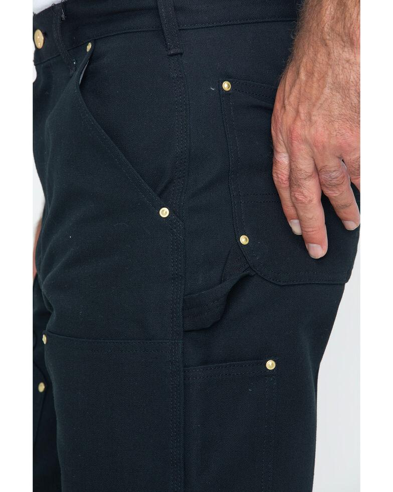 Carhartt Double Duck Dungaree Fit Khaki Work Jeans, Black, hi-res