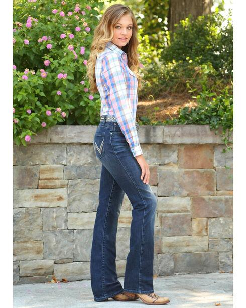 Wrangler Women's Indigo Ultimate Riding Jeans - Boot Cut , Indigo, hi-res