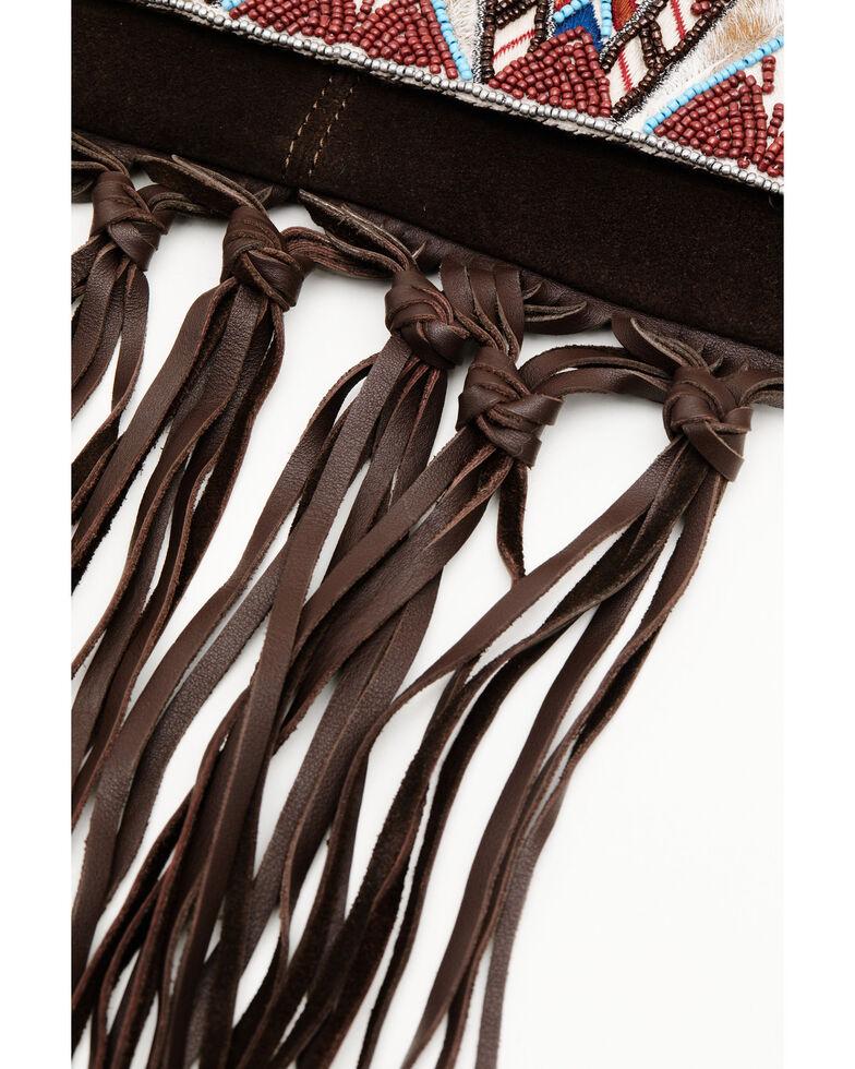 Idyllwind Women's Hang Tight Fringe Crossbody Bag, Brown, hi-res