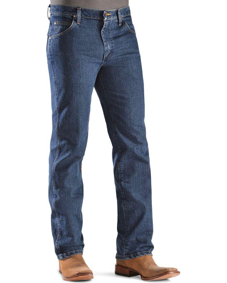 Wrangler Premium Performance Advanced Comfort Cowboy Cut Slim Fit Jeans - Big & Tall, Dark Denim, hi-res