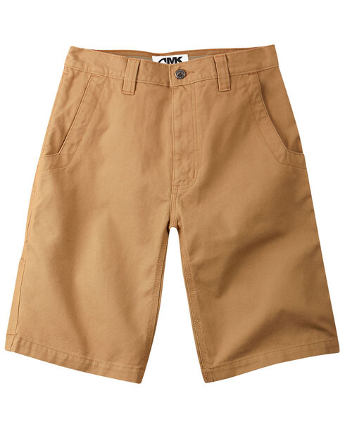 """Mountain Khakis Men's Alpine Relaxed Fit Utility Shorts - 9"""" Inseam, Brown, hi-res"""