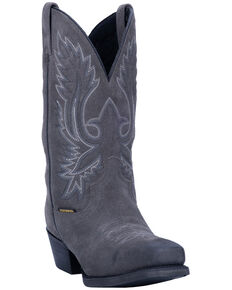 Laredo Men's Grey Colton Western Boots - Narrow Square Toe, Grey, hi-res