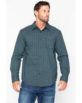 Gibson Men's Star Dust Long Sleeve Western Shirt, Black, hi-res
