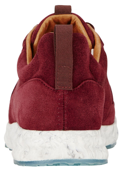 Ariat Women's Ox Blood Suede Fusion Athletic Shoes  , Red, hi-res