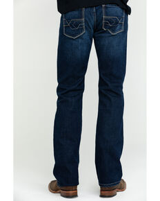Ariat Men's M7 Salton Rocker Low Stackable Slim Straight Jeans , Blue, hi-res