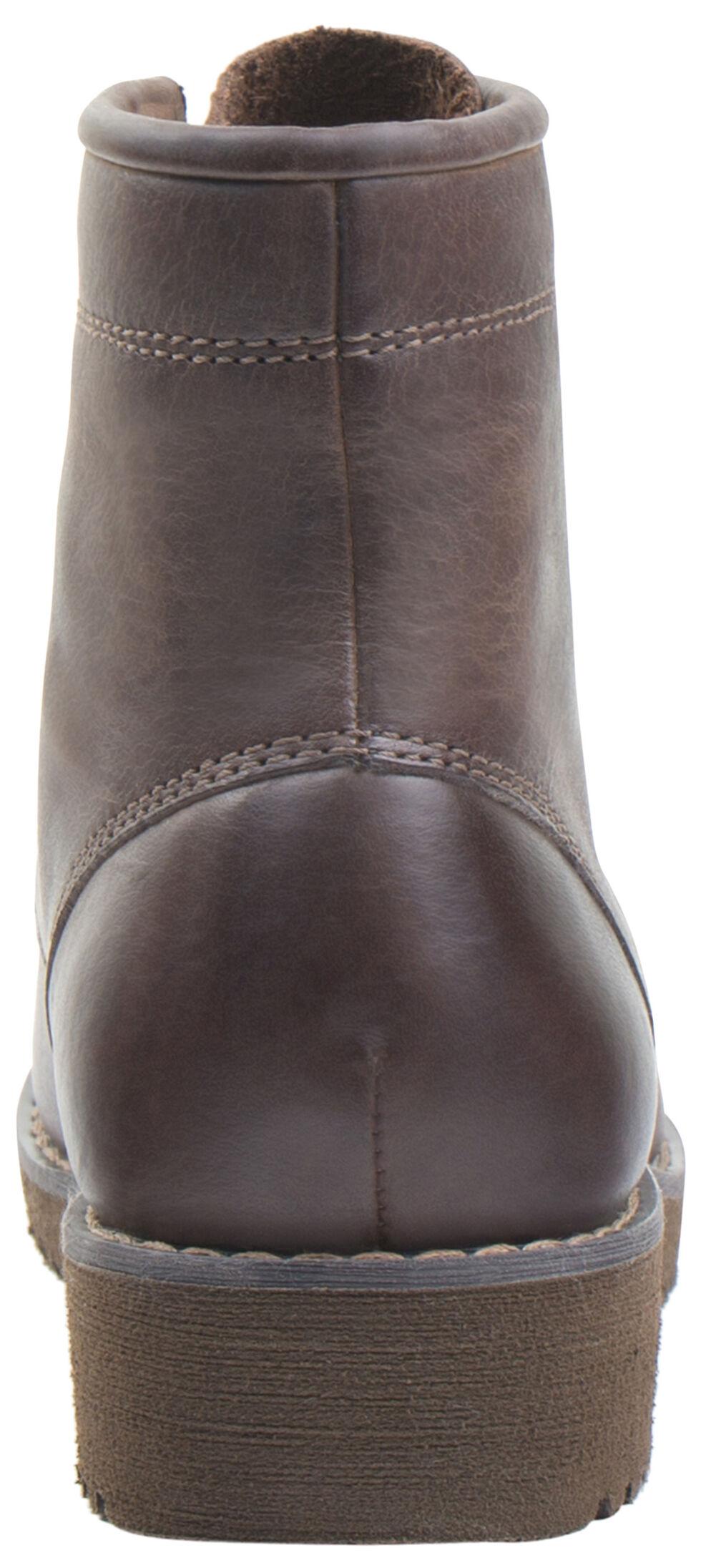 Eastland Women's Dark Tan Dakota Lace-Up Boots, Tan, hi-res