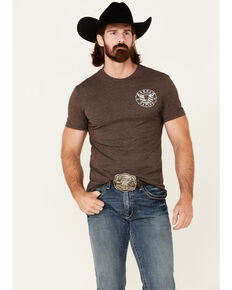 Cowboy Hardware Men's Cowboy Nation Graphic Short Sleeve T-Shirt, Brown, hi-res