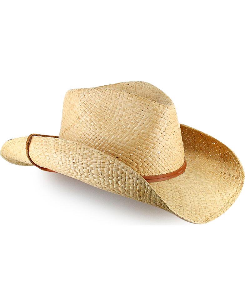 Stetson Laurel Raffia Chin Strap Outdoor Hat, Natural, hi-res