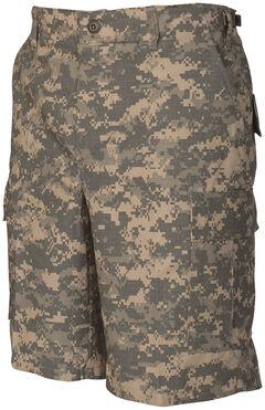Tru-Spec Men's All-Terrain Digital Camo BDU Shorts, Camouflage, hi-res