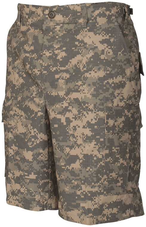 Tru-Spec Men's All-Terrain Digital Camo BDU Shorts, Camouflage, hi-res