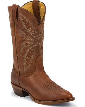 Nocona Men's Lucca Tejas Legacy Western Boots - Medium Toe, Brown, hi-res
