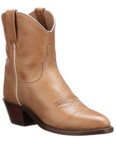 Lucchese Women's Gaby Western Booties - Round Toe, Rust Copper, hi-res
