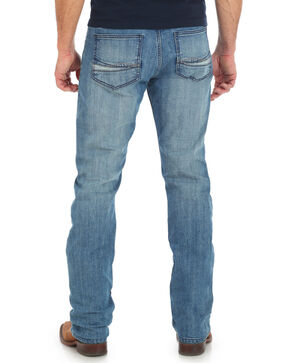 Wrangler 20X Men's No. 44 Slim Fit Straight Leg Jeans , Light Blue, hi-res