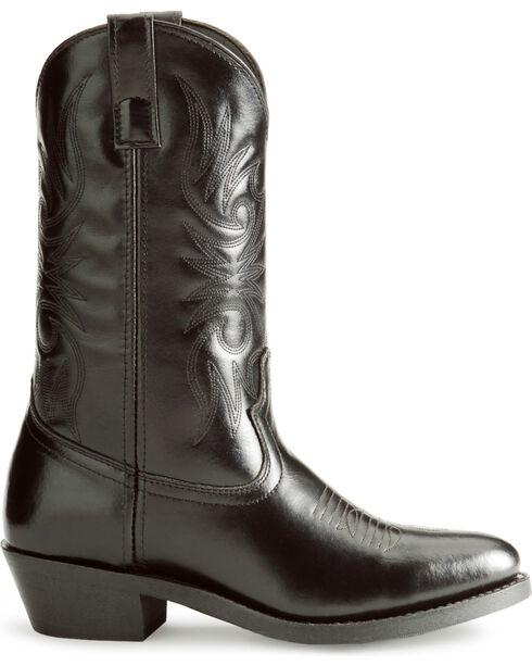 Laredo Cowboy Work Boots, Black, hi-res