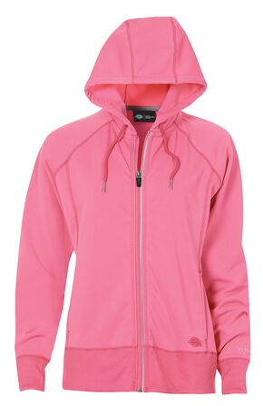 Dickies Work Tech Water-Repellent Performance Full-Zip Hoodie, Pink, hi-res
