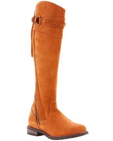 5b2bd2e2189e Ariat Womens Chestnut Alora Riding Boots - Round Toe