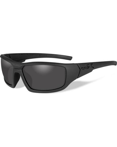 Wiley X Censor Black Ops Polarized Sunglasses, Black, hi-res