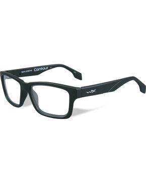Wiley X Men's WX Contour Matte Black Glasses , Black, hi-res