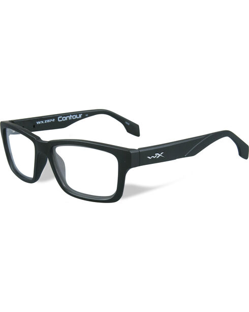Wiley X Black Ops Airrage Grey Matte Black Sunglasses  , Black, hi-res