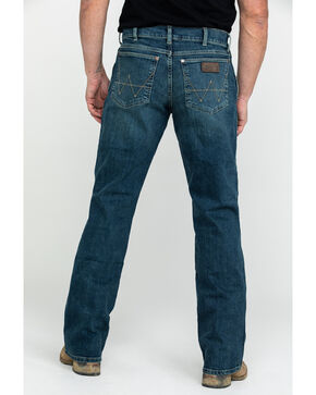 Wrangler Retro Men's Alpine Relaxed Boot Jean, Blue, hi-res
