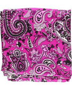 Paisley Silk Wild Rag, Purple, hi-res