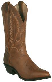 Boulet Rider Cowboy Boots - Pointed Toe, Golden Tan, hi-res