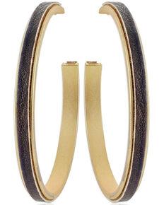 Montana Silversmiths Women's Golden Hour Shimmering Hoop Earrings, No Color, hi-res