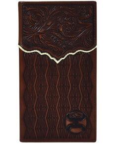 HOOey Men's Roughy Signature Rodeo Wallet, No Color, hi-res