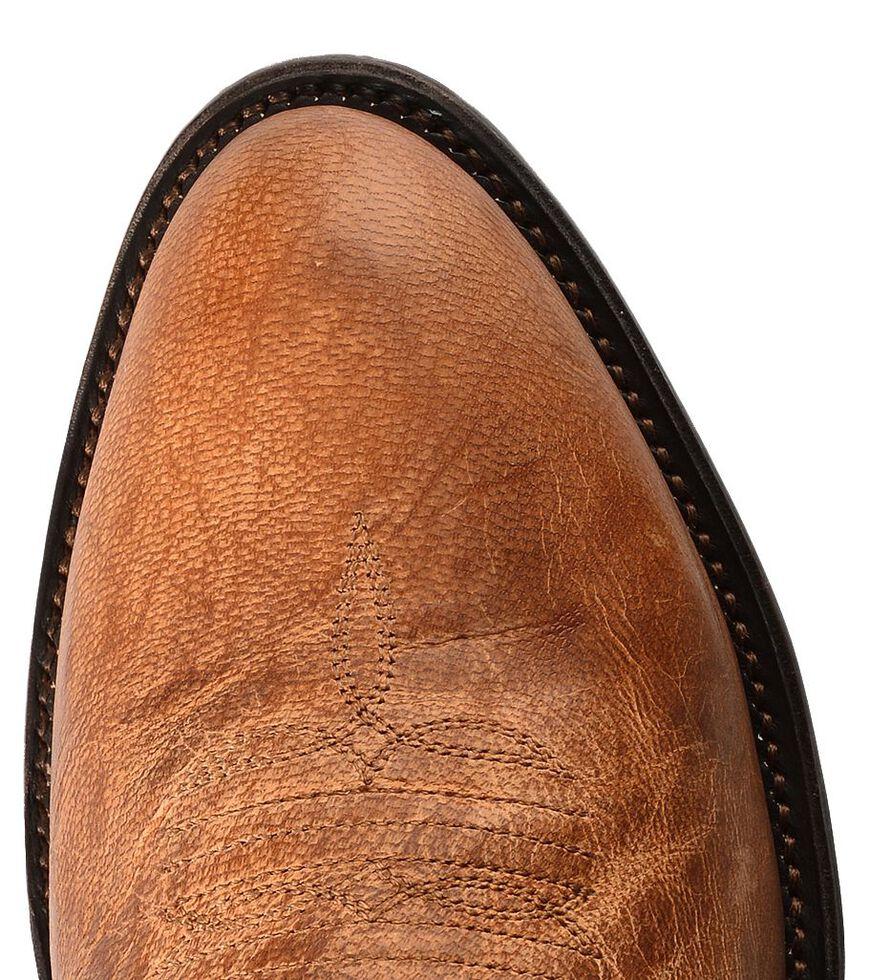 Lucchese Handmade 1883 Tan Mad Dog Goatskin Cowboy Boots - Medium Toe, Tan, hi-res