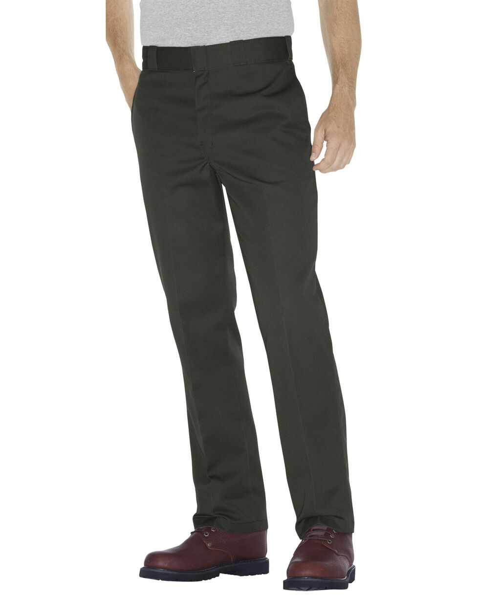 Dickies Men's Original 874® Olive Work Pants - Big & Tall, Olive Green, hi-res