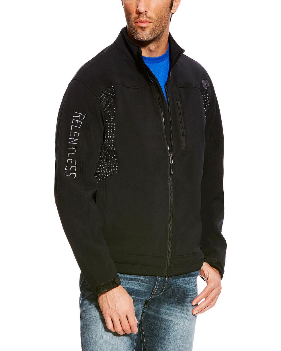 Ariat Men's Black Relentless Willpower Softshell Jacket , Black, hi-res
