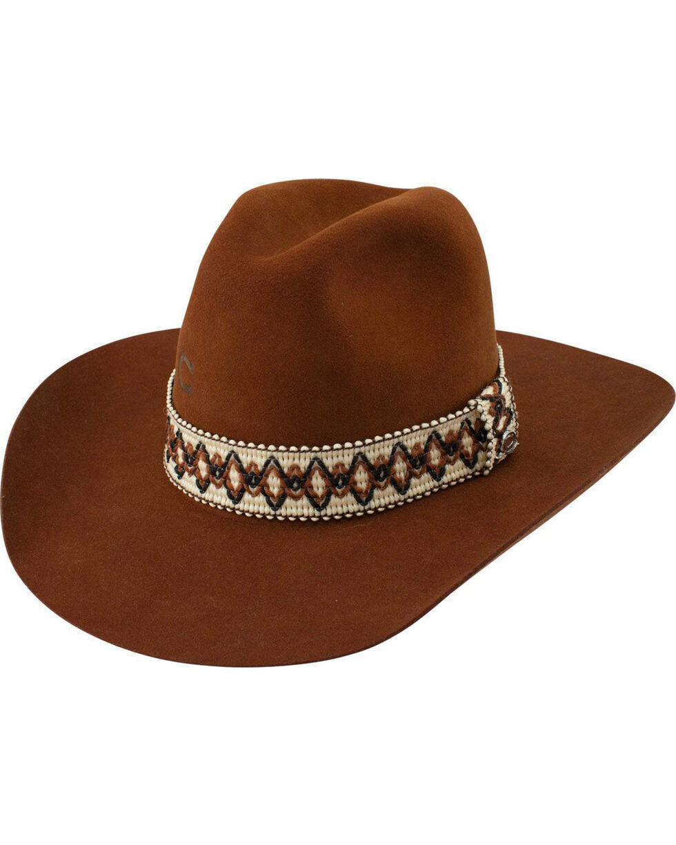 Charlie 1 Horse Women's Brown Dance Hall Cowgirl Hat , Brown, hi-res