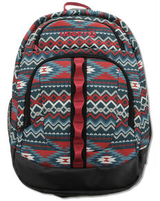 HOOey Ox Black Aztec Backpack, Black, hi-res