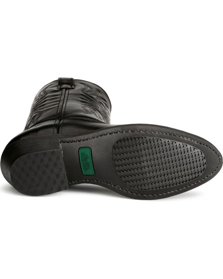 Laredo Men's Cowboy Work Boots - Medium Toe, Black, hi-res