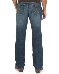 Wrangler Men's Retro Relaxed Mustang Ridge Jeans - Tall, Denim, hi-res