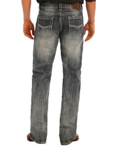 """Rock & Roll Denim Men's Double Barrel Small """"V"""" Straight Leg Jeans, Indigo, hi-res"""