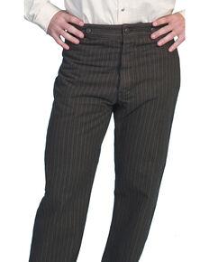 Wahmaker by Scully Railhead Stripe Pants, Charcoal Grey, hi-res