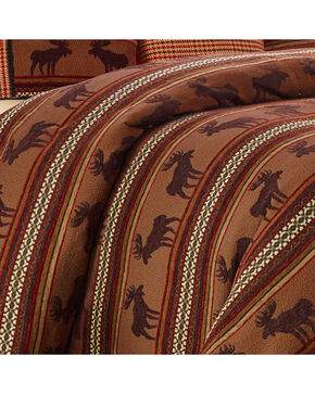 HiEnd Accents Full-Size Bayfield Moose Duvet , Multi, hi-res