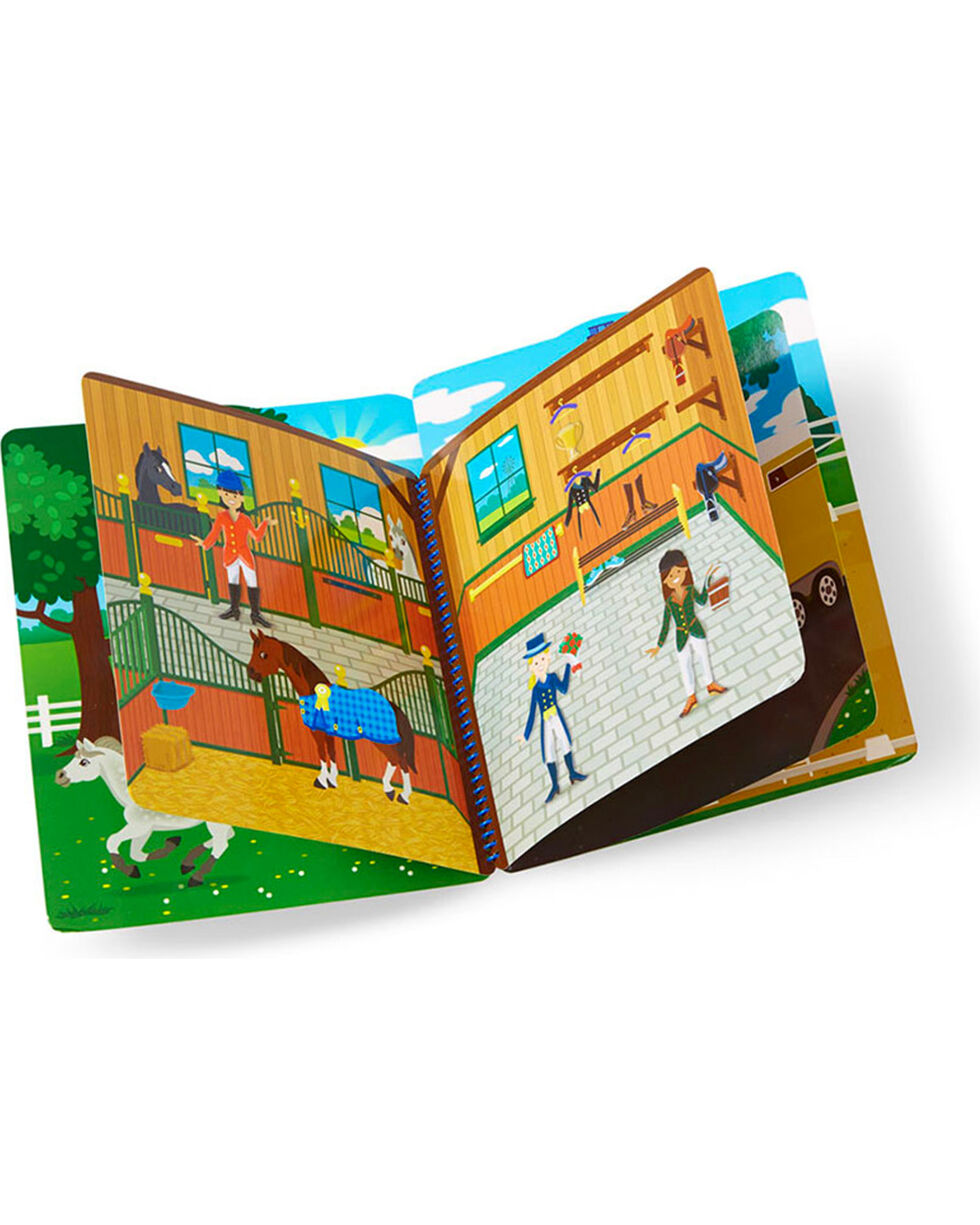 Melissa & Doug Puffy Sticker Activity Book , No Color, hi-res