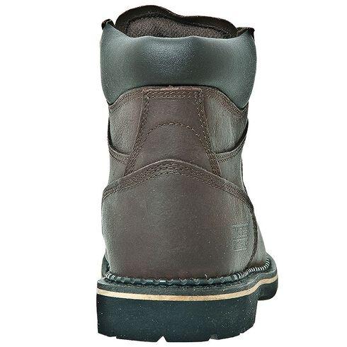 "McRae Industrial 6"" Lace-Up Work Boots - Steel Toe, Dark Brown, hi-res"